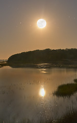 May Moon Madness on Matanzas Marsh (JamesWatkins) Tags: longexposure light moon art nature water night writing photoshop stars landscape coast words lowlight poetry shorelines florida digitalart creative luna atlantic nighttime coastal moonrise moonlight writer nightsky poems thesea staug atlanticocean marshmellow moonscape afterdark seas poets naturalart moonie beautifulscenery stargazing marshes starlight d300 ps3 staugustineflorida creativewriting starscape matanzascreek moonbeams darkscape inlandwaterway starrystarrynight nikkor18200vr theeastcoast themarshes jameswatkins creativewriter pictureswithpoems coastalscenes poemsandpictures coastalart picturesandpoems matazas marshlight poemsandpoets poetsandpoetry poemswithpictures skyportraits moonportraits thefloridacoast moonandmarshes marshgas matanzasmarsh themarshatnight marshmoonie