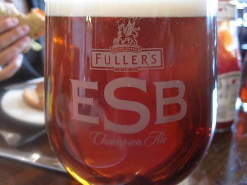 Fuller's ESB on cask at The Star Tavern
