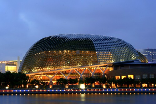 Top Travel place singapore esplanade