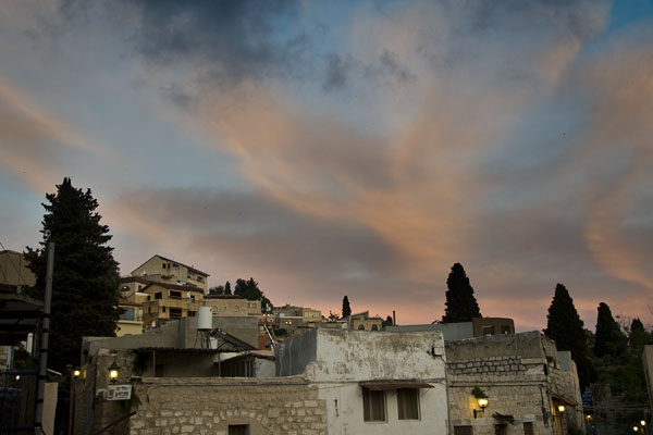 Sunset in Tzfat