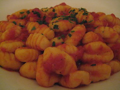 Gnocchi Tomato at Pasta Plus