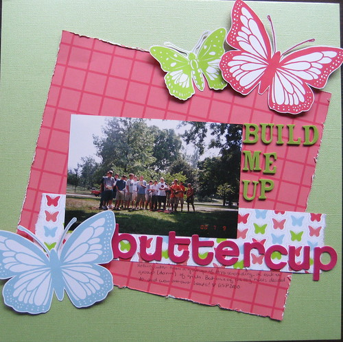 June C2P: Build Me Up Buttercup