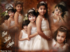 four little angels (Hassan AL.Hayki) Tags: maria noor bayan rawan