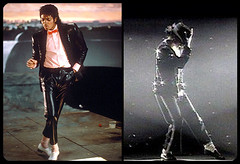 Michael Jackson Billie Jean Video/Live (charcoaldesigns) Tags: red halloween costume bowtie michaeljackson leatherpants billiejean