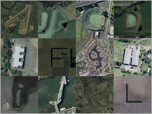 Tipografia con Google Earth
