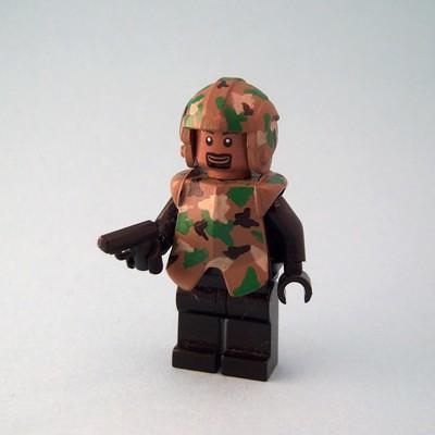 Camo Trooper custom minifig