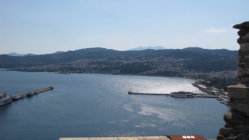 View from the Kavala Fortress