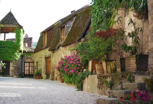 Cour du Prieuré (Carennac)