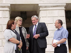 George Savage MLA meets PEAT representatives (Ulster Unionist Party) Tags: peat uup ulsterunionists georgesavage