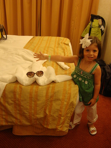 Amelia Posing with Stingray