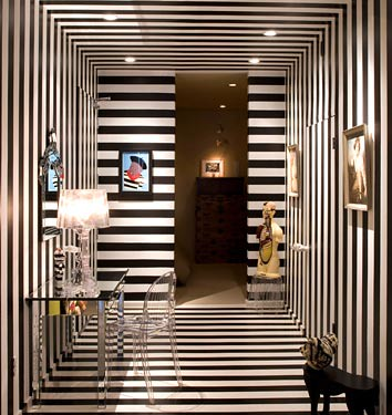 Stripey Entrance