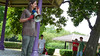 Jason Webley rallying the troops (Eli Juicy Jones) Tags: seattle park summer people jasonwebley 2009 wallingford lunge camptomato juicyjones meridianpark tomatoscouts lx3 slightlynorth