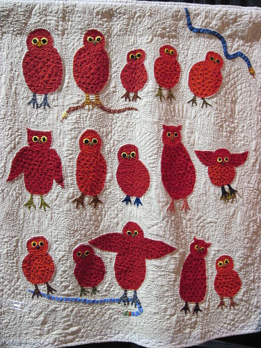 Red Owls by Karin Peirce