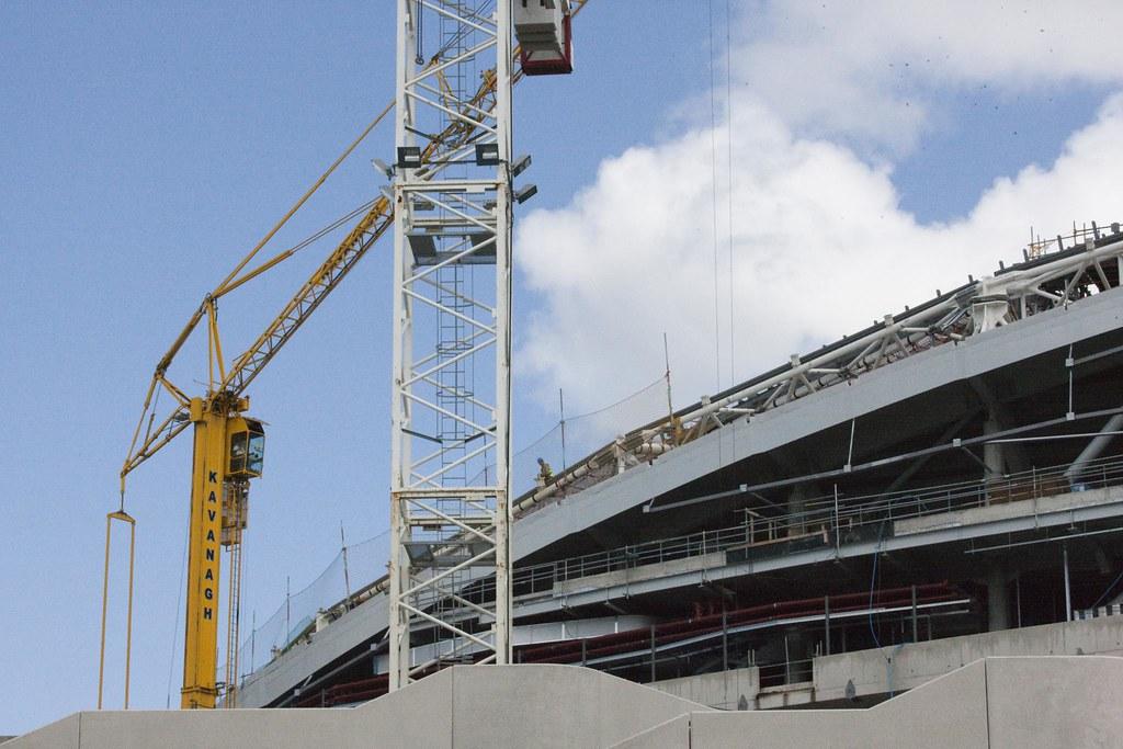 The redevelopment of Lansdowne Road Stadium