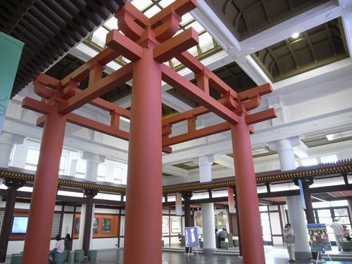 『奈良市総合観光案内所』(旧JR奈良駅舎)