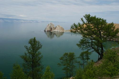 Shaman rock of Olkhon Island