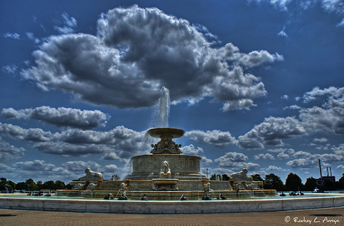 Scott Fountain - Belle Isle - Detroit