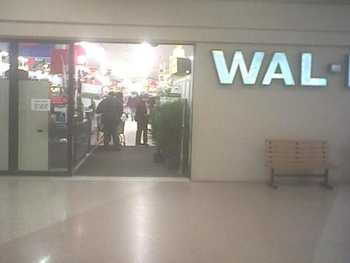 West Faribo Mall - Faribault, Minnesota - 2005 Visit - Wal-Mart's Mall Entrance