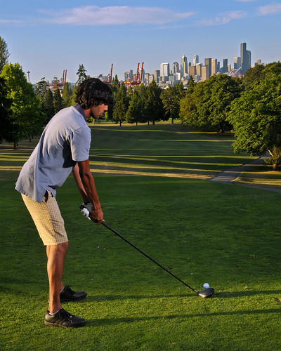Sharat on the tee