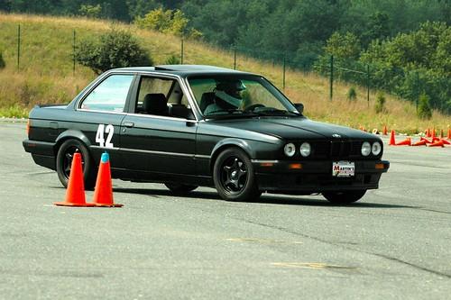 BMW running