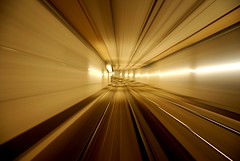 Tram tunnel - The Hague (Just a guy who likes to take pictures) Tags: city light urban holland color colour netherlands modern underground photography europa europe track fotografie photographie den colorphotography nederland thenetherlands tram rail tunnel denhaag hague infrastructure rails holanda lightrail haag tramtunnel paysbas thehague stad niederlande ov the kleur htm vervoer colourphotography openbaar infrastructuur randstadrail kleurenfotografie