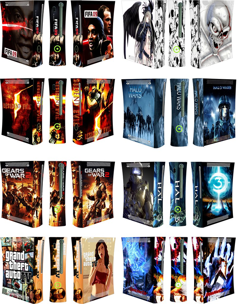 Xbox 360 skins
