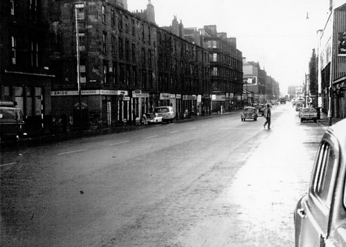 Gallowgate Looking West towards Bellgrove Street 1960's