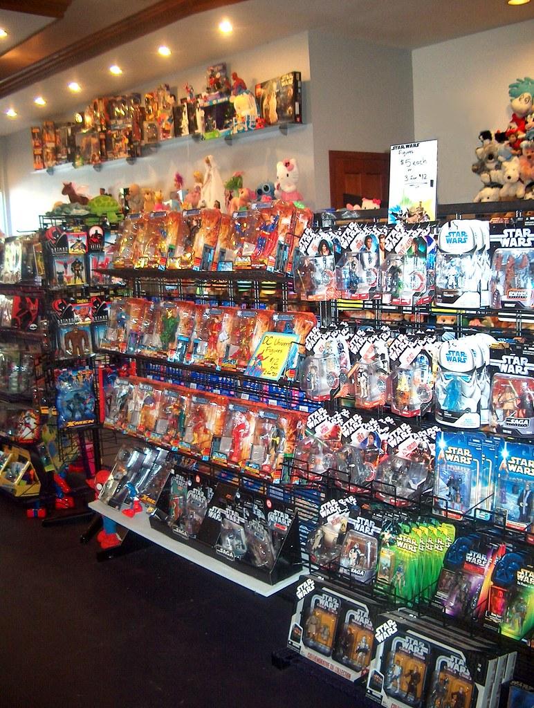 Inside of Store, DC Universe, Star Wars, Batman & More BOBAKHAN TOYS