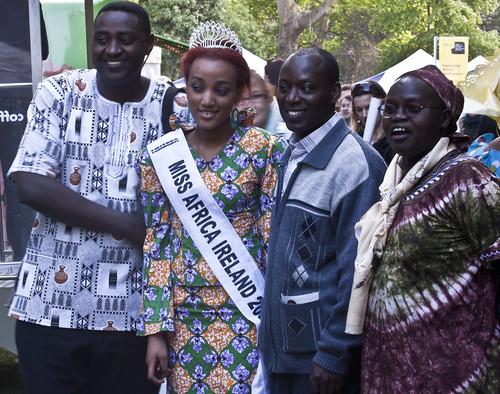 Miss Africa Ireland, Stazia Costa And Friends