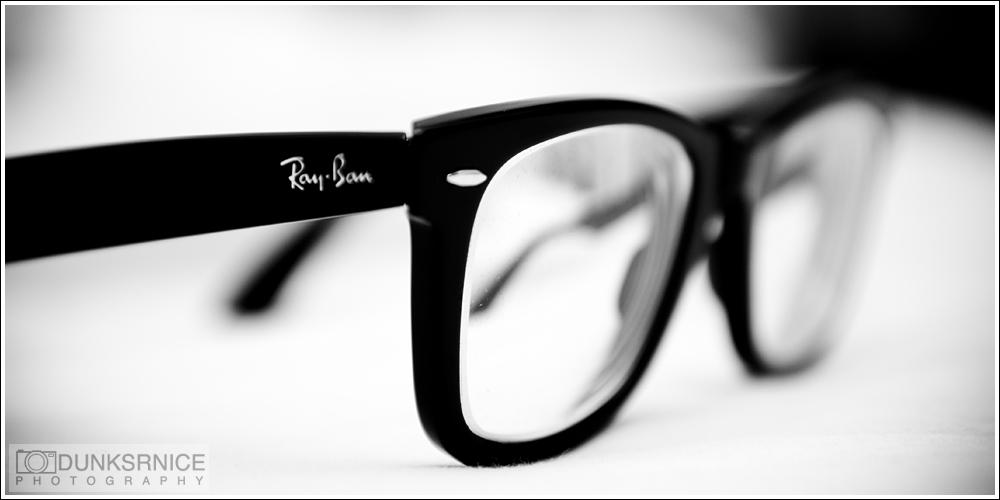 Rayban B&W.