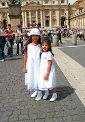 At St. Peter's Basilica 20030430 071