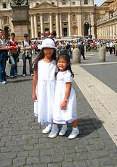 At St. Peter's Basilica 20030430 071