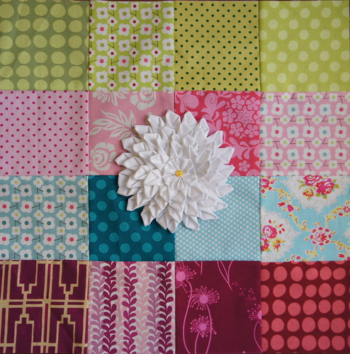 VIBees quilt block for Tracey