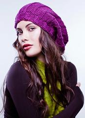 Gorro de alpaca (Mercedes Galarce .:Miti - Mota:.) Tags: chile wool hat hoodie women knitted crocheted balaclava
