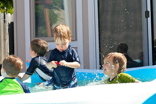Backyard Swimming