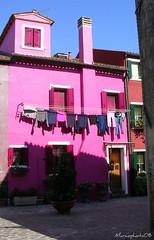 Casa lilla (Marco Brambilla 2009) Tags: casa sole burano cubism