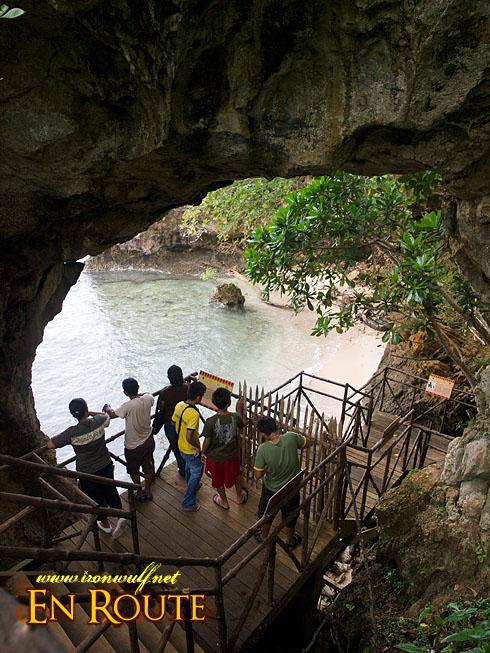 Balobok Natural Arc Entrance