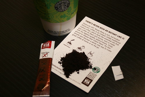 VIA Starbucks Instant Coffee