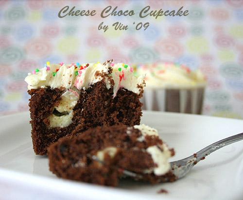 Cheese Choco Cupcake