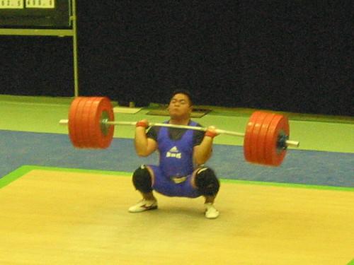 【2003全日本】 吉本選手のクリーン225kg