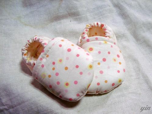 handmade, baby shoe