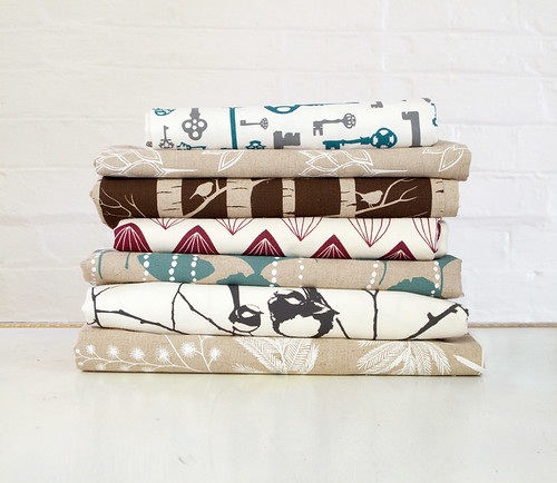 fabric stack for ink & spindle