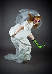 JUMP wacky wedding socks (laurenlemon) Tags: wedding silly sunglasses caitlin studio jump jumping veil dress canoneosdigitalrebelxt stripedsocks jumpology laurenrandolph caitlinrandolph laurenlemon