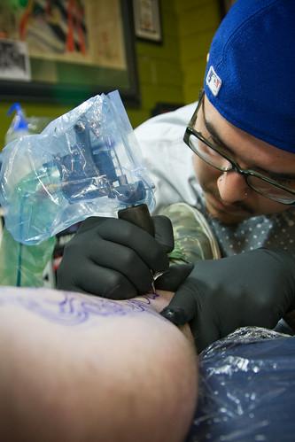 Tony from absolute tattoo zapn'