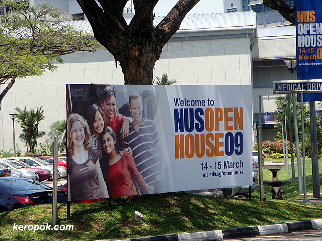 NUS Open House 2009