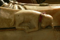 Alabaster tomb, St. Giles, Chesterton