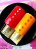 sweets <3 (pinkyia™) Tags: pink red black colors yellow dessert sweet plate icecream colourful roro pinkyia pinkroro