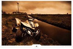Mudd Machine (UPTFV) (Gert van Duinen) Tags: atc bravo digitalart quad riding atv 2009 dirtbikes fourwheeling trailriding fourwheeler quads utv dutchartist recking cresk loncin gertvanduinen quadrianer atvrider