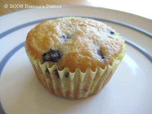 Breakfast Week: Blueberry Muffins