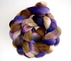 poppy flowers fibers esty combed top